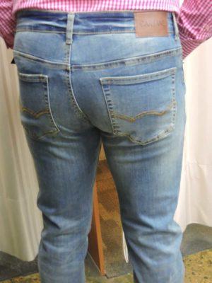 The Joker Shoppe Mensland - Super Stretch Washed Blue Jeans